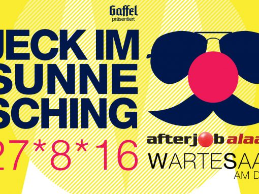 Jeck im Sunnesching am 27. August