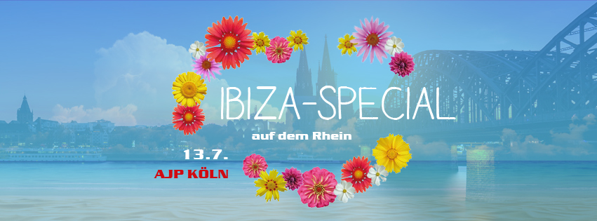 IBIZA SPECIAL! Die AfterJobParty auf dem Rhein!