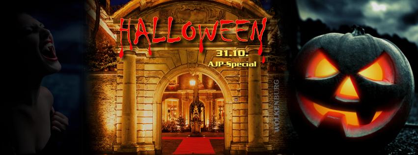 Die Halloweenparty in der Wolkenburg