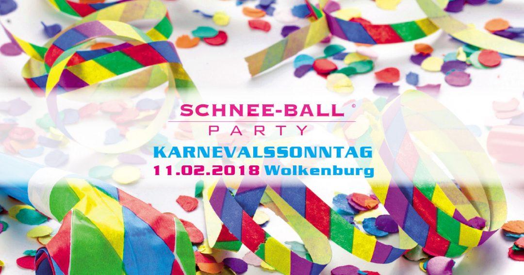 Schnee-Ball – die Karnevalsparty in der Wolkenburg am Karnevalssonntag