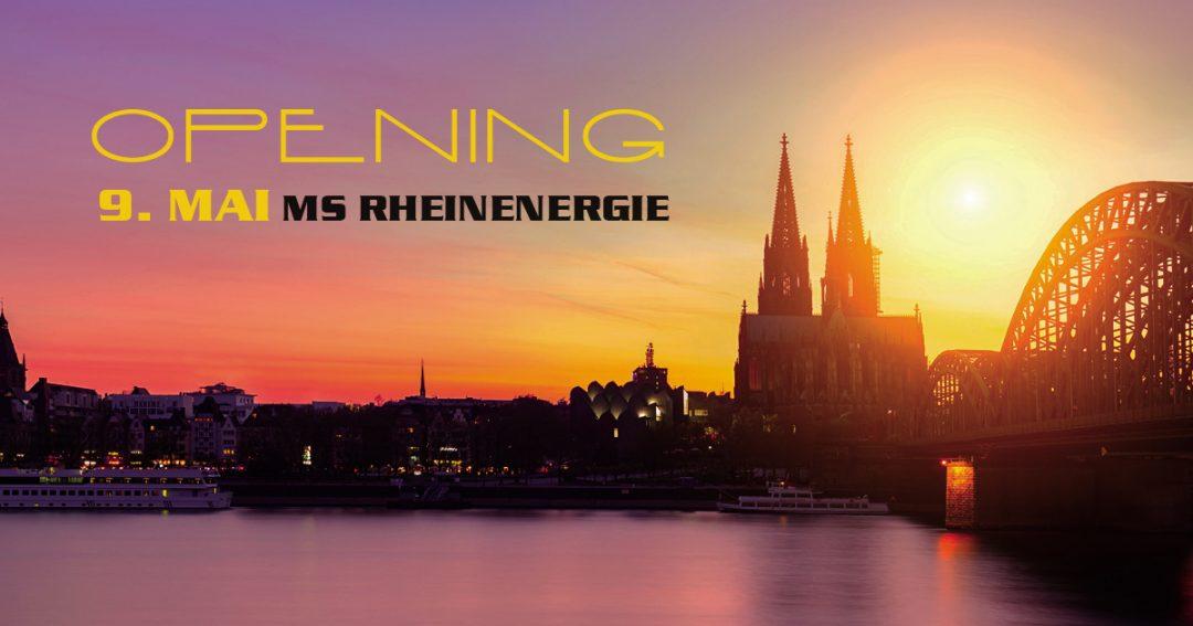 AfterJobParty auf dem Rhein – das Kölner Opening 2018