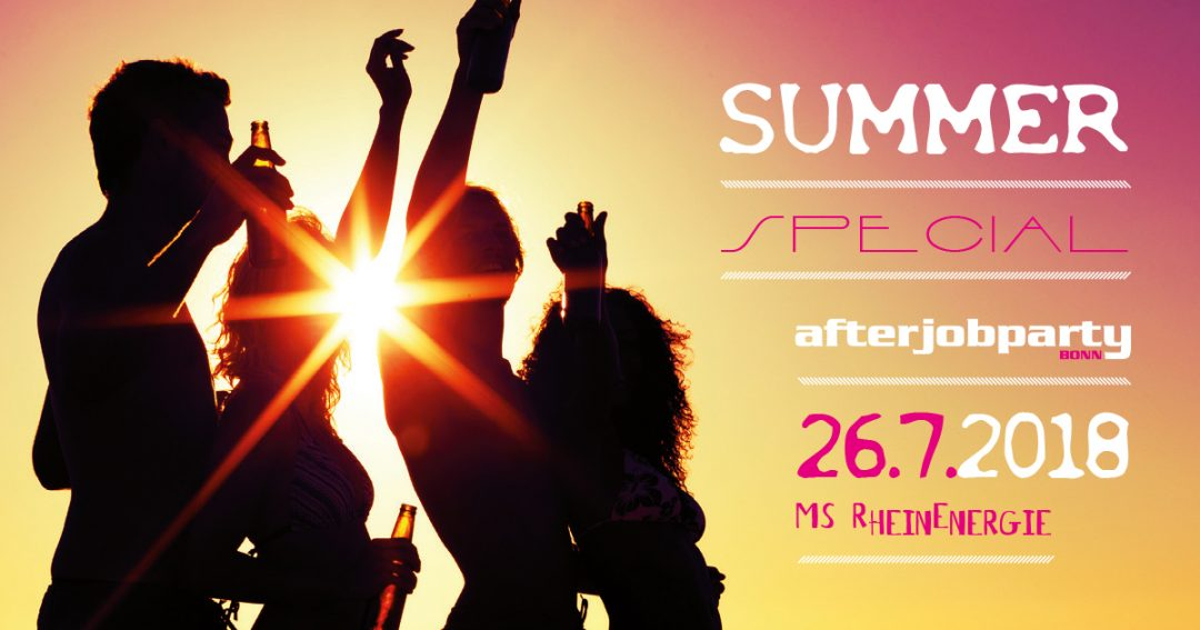 26.7. Summer-Special auf dem Rhein