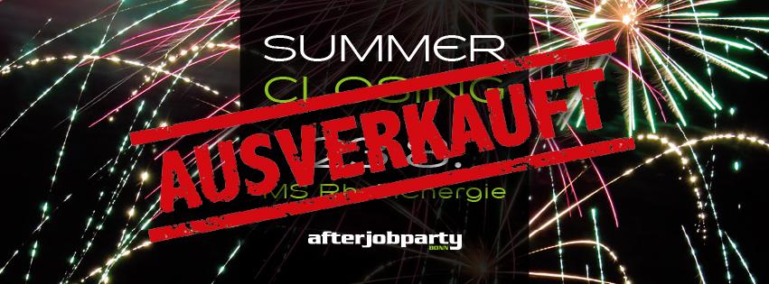 23.08.18 Summer Closing auf dem Rhein