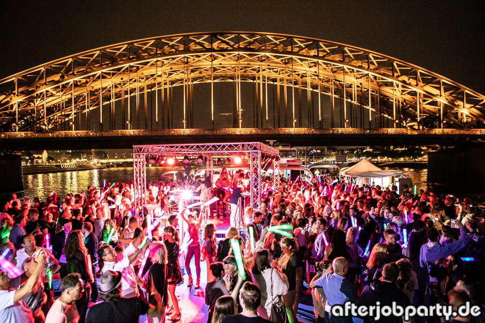AfterJobParty auf dem Rhein – Lichter der Nacht (07.06.18)