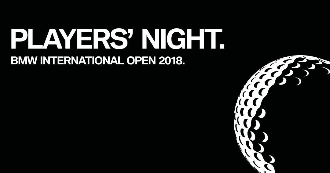 Die BMW International Open Players´ Night