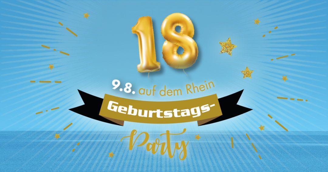 9.8. AfterJob-Geburtstagsparty 18 Jahre