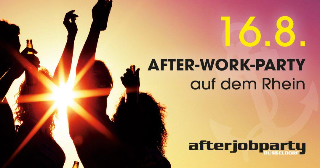 AfterJobParty auf dem Rhein – Summer Closing