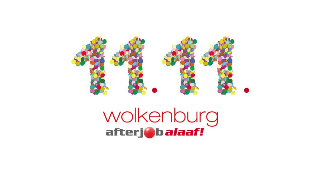 AfterJob Alaaf! Die Karnevalsparty am 11.11. in der Wolkenburg.