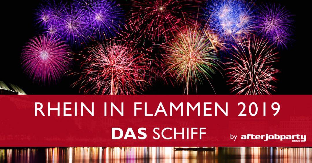 Rhein in Flammen – DAS SCHIFF 2019