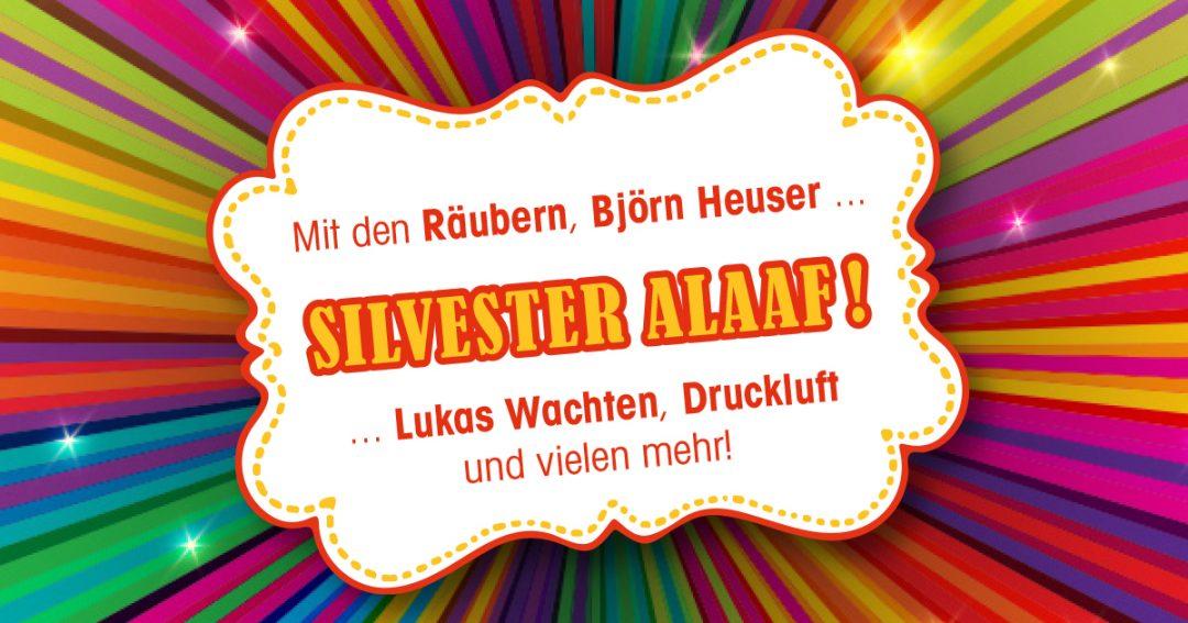 Silvester Alaaf! Die jecke Silvesterparty im Sartory.