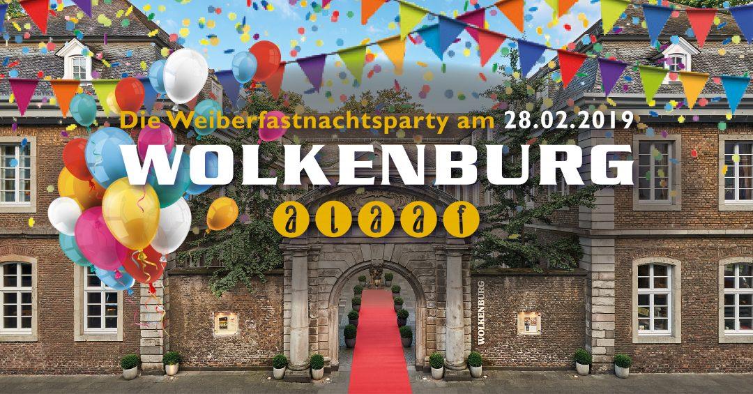 Wolkenburg Alaaf! Die Karnevalsparty an Weiberfastnacht