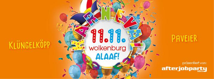 Elfter im Elften: Wolkenburg Alaaf!