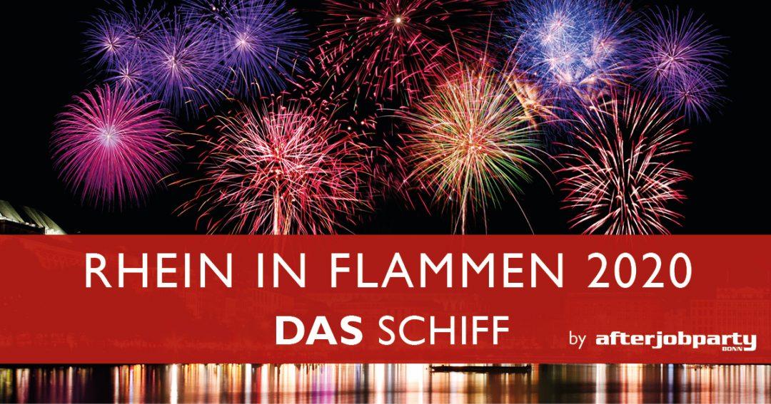 Rhein in Flammen 2020 – DAS  SCHIFF