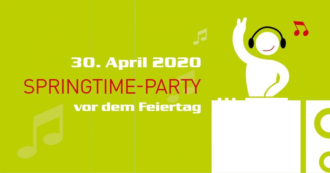 Springtime-Party im Königshof