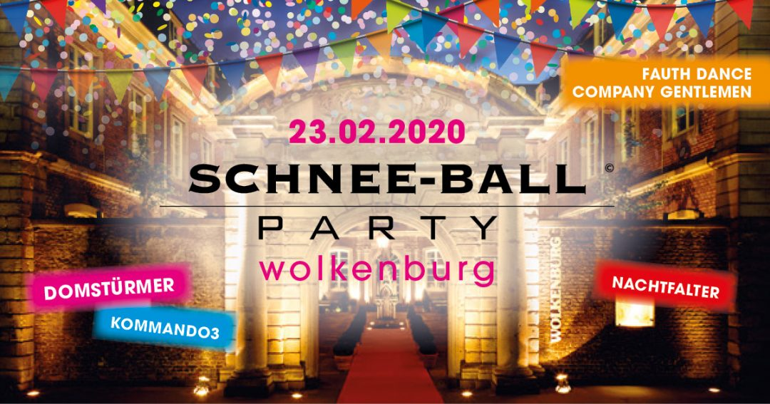 Schnee-Ball – die Party in der Wolkenburg am Karnevalssonntag